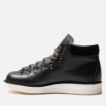 Мужские ботинки Fracap M129 Scarponcini Suede Black/Gloxy White фото- 5