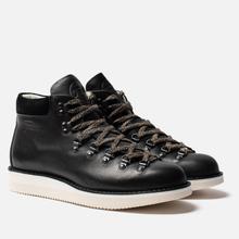 Мужские ботинки Fracap M129 Scarponcini Suede Black/Gloxy White фото- 0
