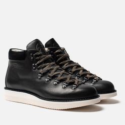 Мужские ботинки Fracap M129 Scarponcini Suede Black/Gloxy White