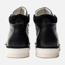 Мужские ботинки Fracap M129 Scarponcini Suede Black/Gloxy White фото- 2