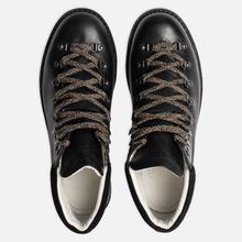 Мужские ботинки Fracap M129 Scarponcini Suede Black/Gloxy White фото- 1