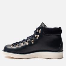 Мужские ботинки Fracap M129 Scarponcini Suede Navy/Gloxy White фото- 5