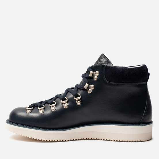 Мужские ботинки Fracap M129 Scarponcini Suede Navy/Gloxy White