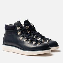 Мужские ботинки Fracap M129 Scarponcini Suede Navy/Gloxy White фото- 0