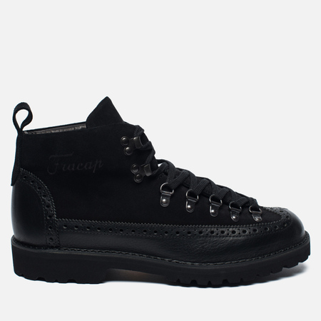 Fracap M130 Scarponcino Men's shoes Black/Roccia Black