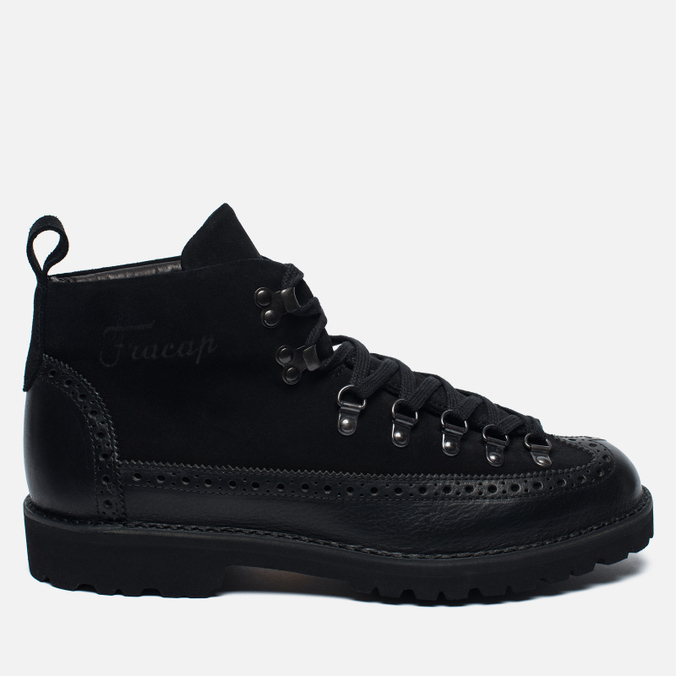 Мужские ботинки Fracap M130 Scarponcino Black/Roccia Black