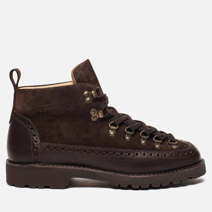 Мужские ботинки Fracap M130 Suede/Nebraska Dark Brown/Roccia Brown