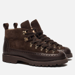 Мужские ботинки Fracap M130 Suede/Nebraska Dark Brown/Roccia Brown фото- 2