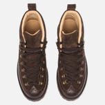 Мужские ботинки Fracap M130 Suede/Nebraska Dark Brown/Roccia Brown фото- 4