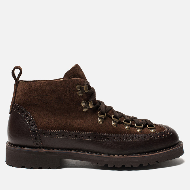 Ботинки Fracap M130 Suede/Nebraska Dark Brown/Roccia Brown