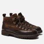Ботинки Fracap M130 Suede/Nebraska Dark Brown/Roccia Brown фото- 2