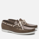 Мужские ботинки Fracap TU291 Leather Nebraska Grey/Sail White фото- 1