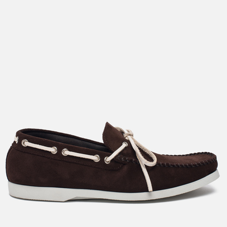 Мужские ботинки Fracap TU291 Leather Suede Dark Brown/Sail White