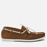 Мужские ботинки Fracap TU291 Leather Suede Camel/Sail White фото- 0