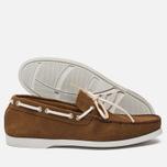 Мужские ботинки Fracap TU291 Leather Suede Camel/Sail White фото- 2
