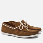 Мужские ботинки Fracap TU291 Leather Suede Camel/Sail White фото- 1