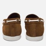Мужские ботинки Fracap TU291 Leather Suede Camel/Sail White фото- 3