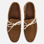 Мужские ботинки Fracap TU291 Leather Suede Camel/Sail White фото- 4