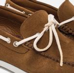 Мужские ботинки Fracap TU291 Leather Suede Camel/Sail White фото- 5