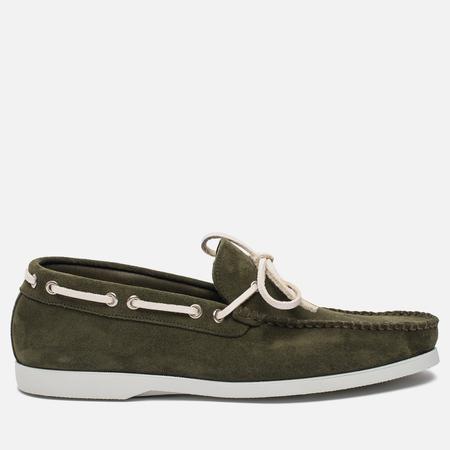 Мужские ботинки Fracap TU291 Leather Suede Green/Sail White