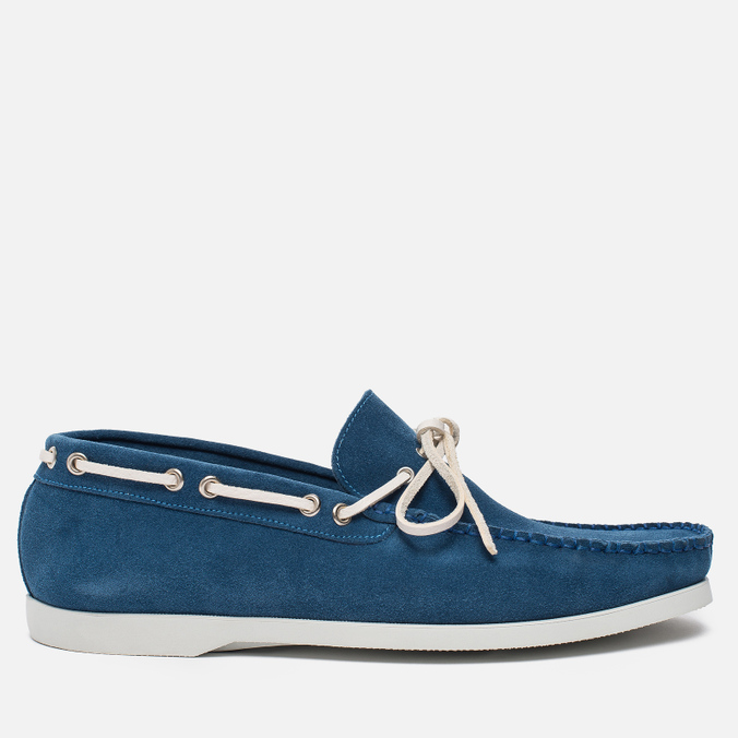 Мужские ботинки Fracap TU291 Leather Suede Light Blue/Sail White