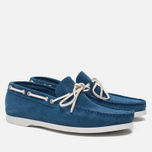 Мужские ботинки Fracap TU291 Leather Suede Light Blue/Sail White фото- 1