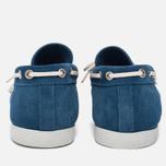 Мужские ботинки Fracap TU291 Leather Suede Light Blue/Sail White фото- 3