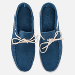 Мужские ботинки Fracap TU291 Leather Suede Light Blue/Sail White фото- 4