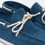 Мужские ботинки Fracap TU291 Leather Suede Light Blue/Sail White фото- 5