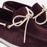 Мужские ботинки Fracap TU291 Leather Suede Violet/Sail White фото- 5