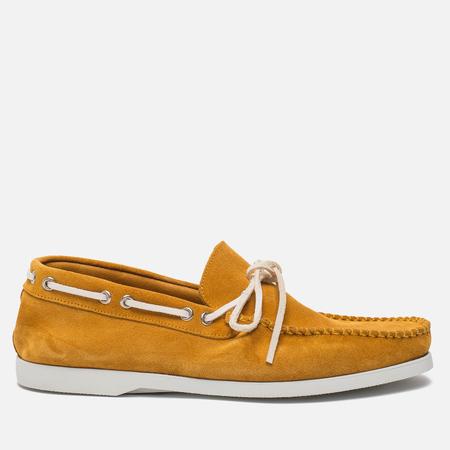 Мужские ботинки Fracap TU291 Leather Suede Yellow/Sail White