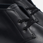 Мужские ботинки Fred Perry Byron Mid Leather Black/White фото- 5