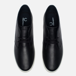 Мужские ботинки Fred Perry Byron Mid Leather Black/White фото- 4