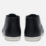 Мужские ботинки Fred Perry Byron Mid Leather Black/White фото- 3