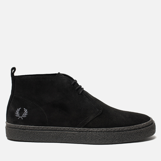 Мужские ботинки Fred Perry Hawley Suede Black