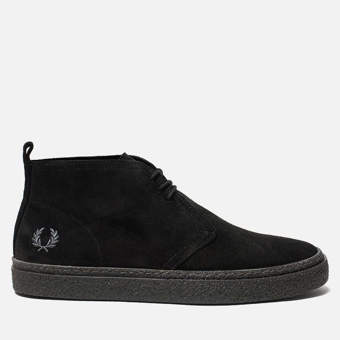 Мужские ботинки Fred Perry Hawley Suede Black