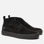 Мужские ботинки Fred Perry Hawley Suede Black фото- 2