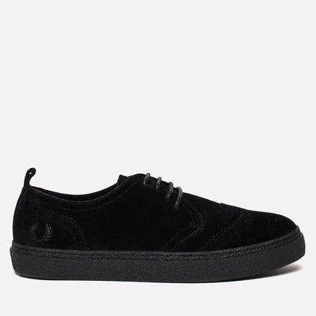 Мужские ботинки Fred Perry Linden Brouge Suede Black