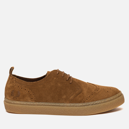 Мужские ботинки Fred Perry Linden Brouge Suede Ginger