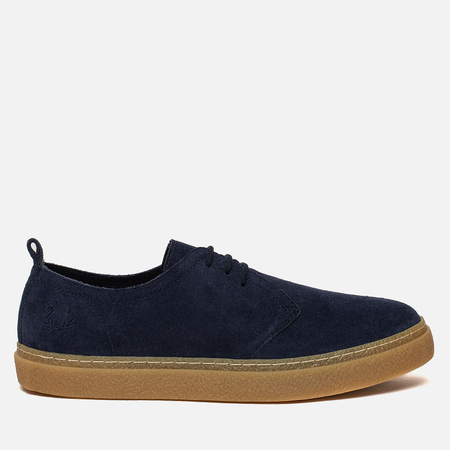 Мужские ботинки Fred Perry Linden Suede Carbon Blue