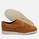 Мужские ботинки Fred Perry Newburgh Brogue Leather/Suede Light Tan фото- 2