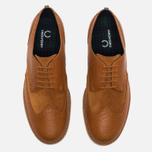 Мужские ботинки Fred Perry Newburgh Brogue Leather/Suede Light Tan фото- 4