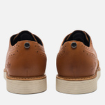 Мужские ботинки Fred Perry Newburgh Brogue Leather/Suede Light Tan фото- 3