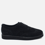 Мужские ботинки Fred Perry Newburgh Brogue Suede Black фото- 0