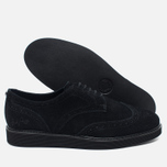 Мужские ботинки Fred Perry Newburgh Brogue Suede Black фото- 2