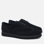 Мужские ботинки Fred Perry Newburgh Brogue Suede Black фото- 1