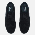 Мужские ботинки Fred Perry Newburgh Brogue Suede Black фото- 4