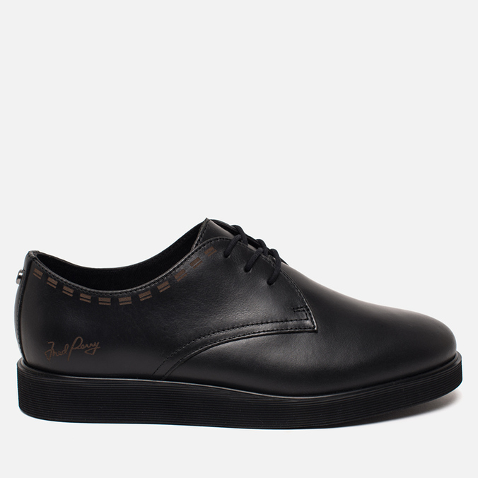 Мужские ботинки Fred Perry Newburgh Leather Black