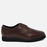 Мужские ботинки Fred Perry Newburgh Leather Dark Chocolate фото- 0