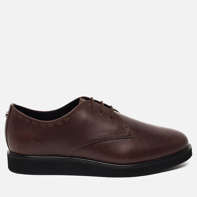 Мужские ботинки Fred Perry Newburgh Leather Dark Chocolate